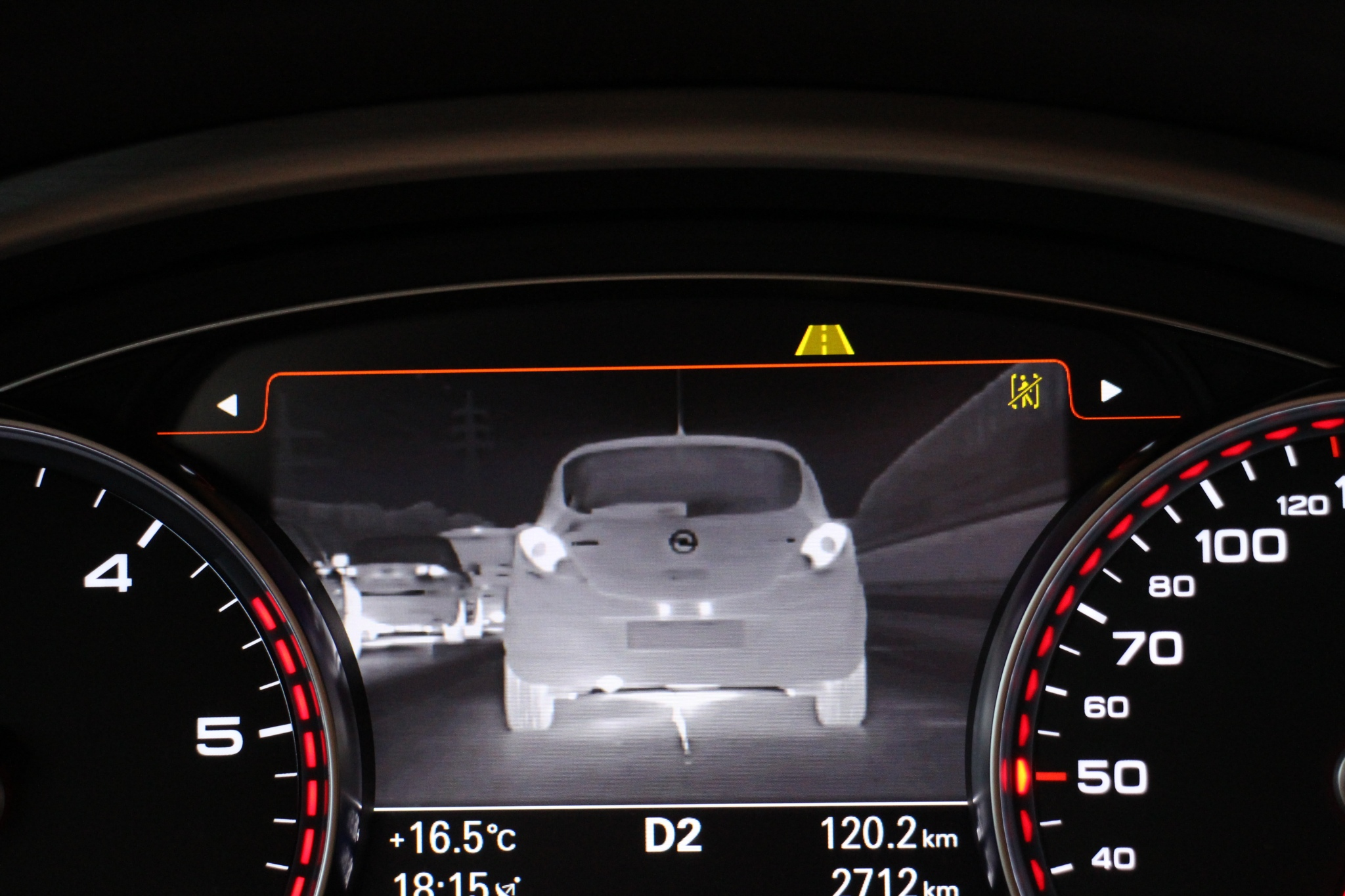 infrared camera on car