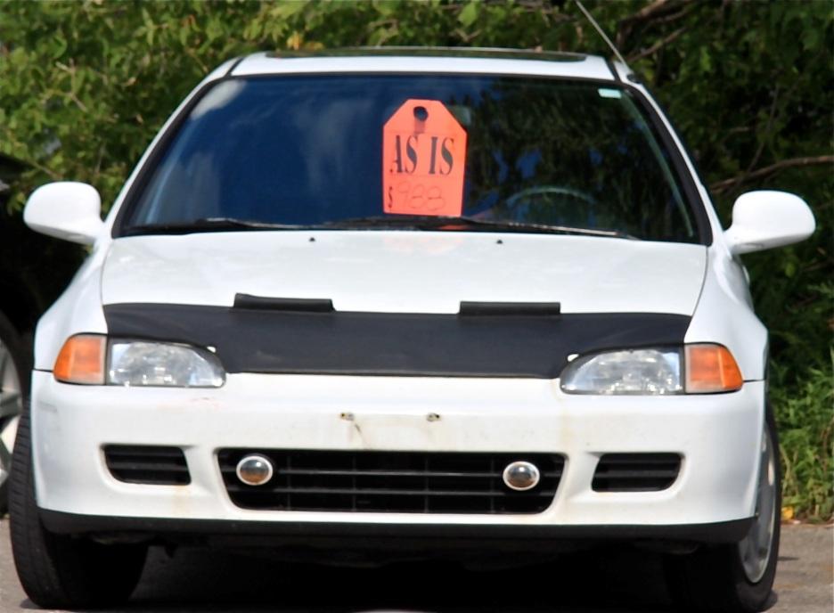 As-is car